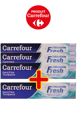 Dentifrice CARREFOUR