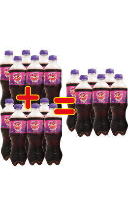 Pack jus Vimto (6 x 35 cl)