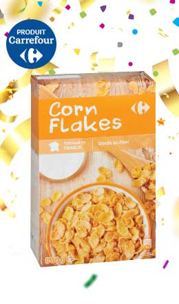 Corn flakes Carrefour (500g)