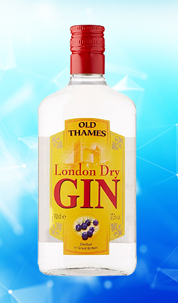 London Gin Old Thames 70 cl