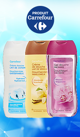 Gel douche Carrefour 250 ml