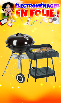 Barbecues Charbons/Electrique